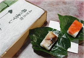 の 寿司 柿 葉